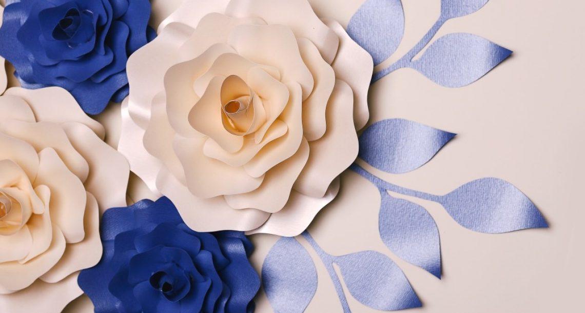 פוסט אורח-אמנות פרחי נייר הדרכה מצולמת