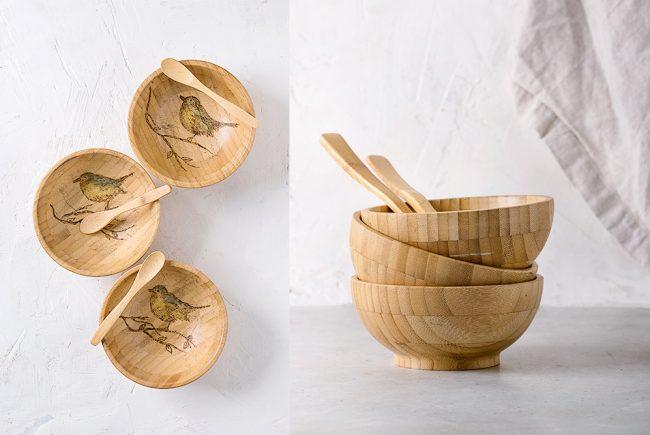 כלים צרובים – אמנות בעץ רוז אליהו