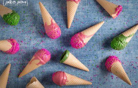 קייקפופס גלידה